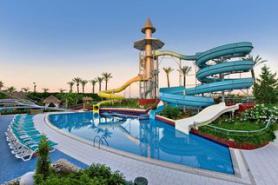 Turecký hotel Delphin Diva s tobogány