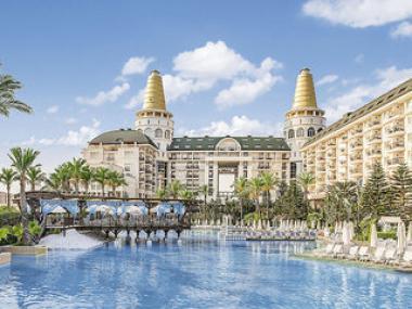 Turecký hotel Delphin Diva, Lara