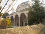 Turecké město Manisa s mešitou Muradiye